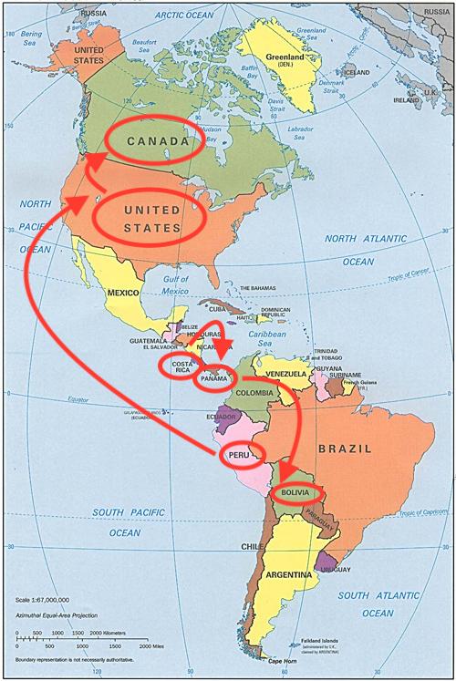 carte-pays-amerique